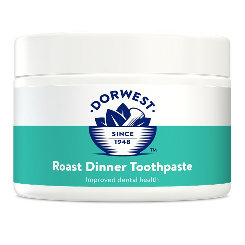 Dorwest roast dinner toothpaste for dogs and cats