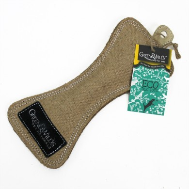 Green and Wilds Natural Jute Funny Done for dogs