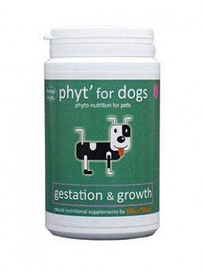 Gestation and growth by Diet'Dog