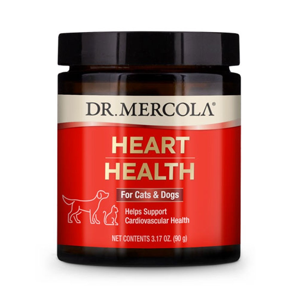 Dr Mercola Heart Health for Cats and Dogs