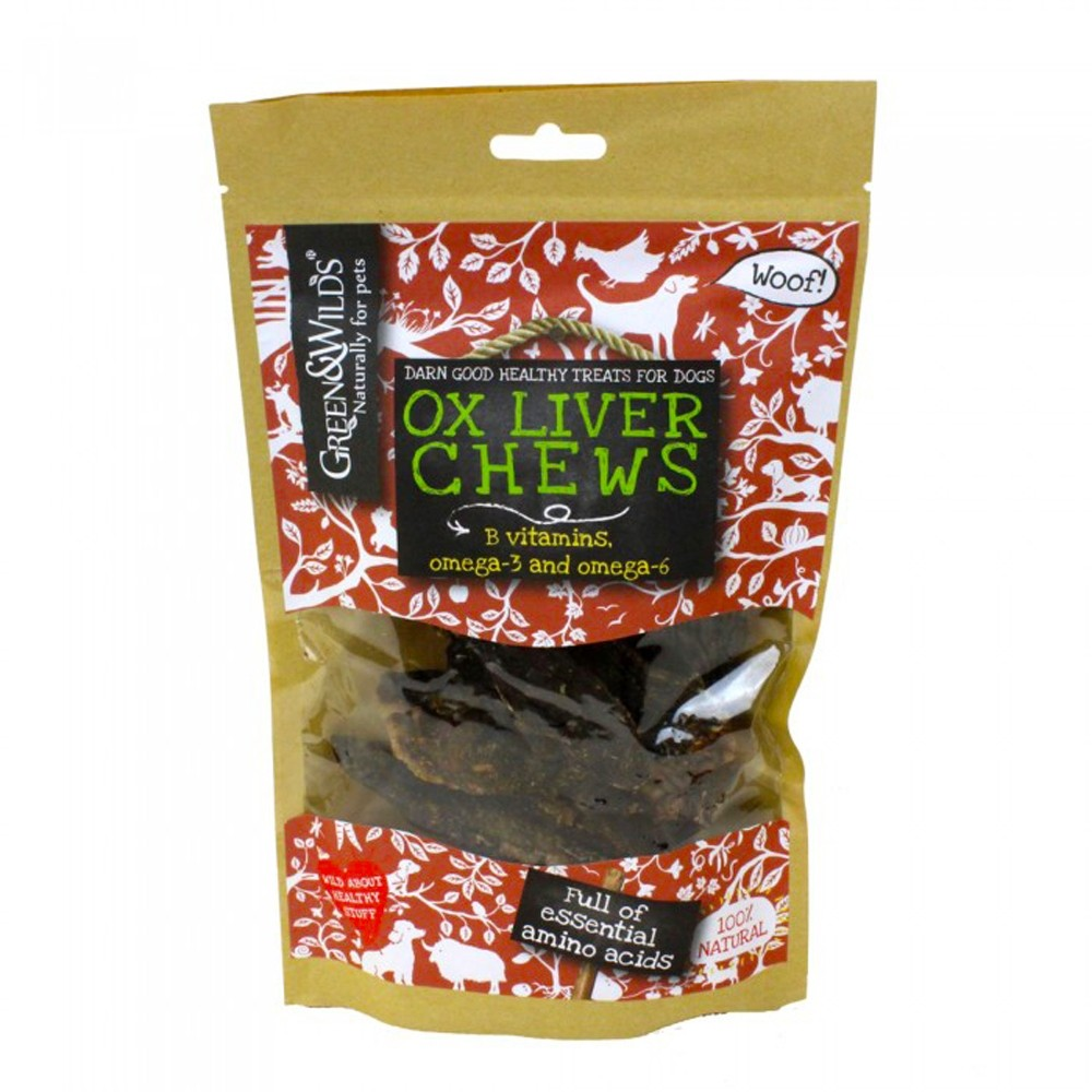 Green & Wilds Ox Liver Chews