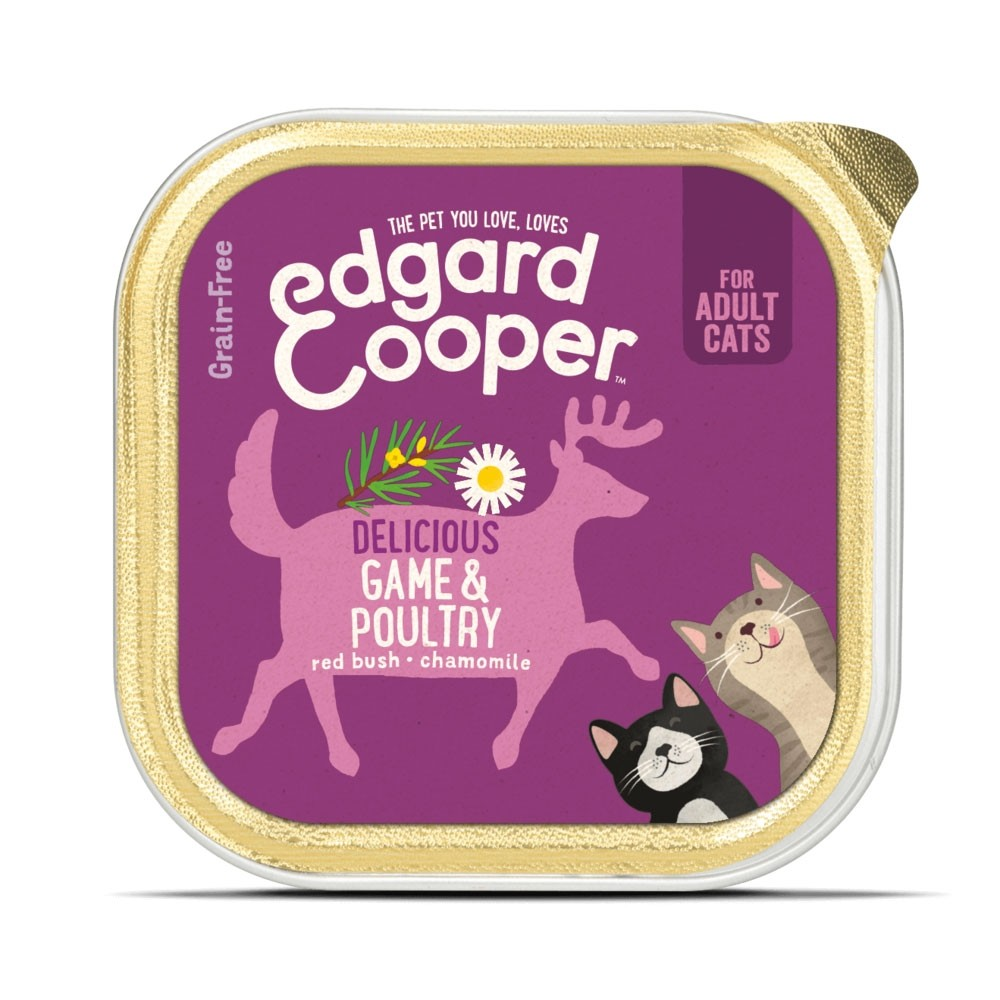 Edgard & Cooper Cat food Game and Poultry