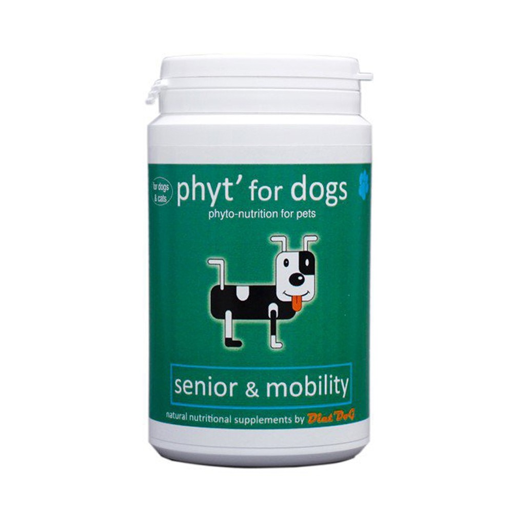 Diet dog senior and mobility