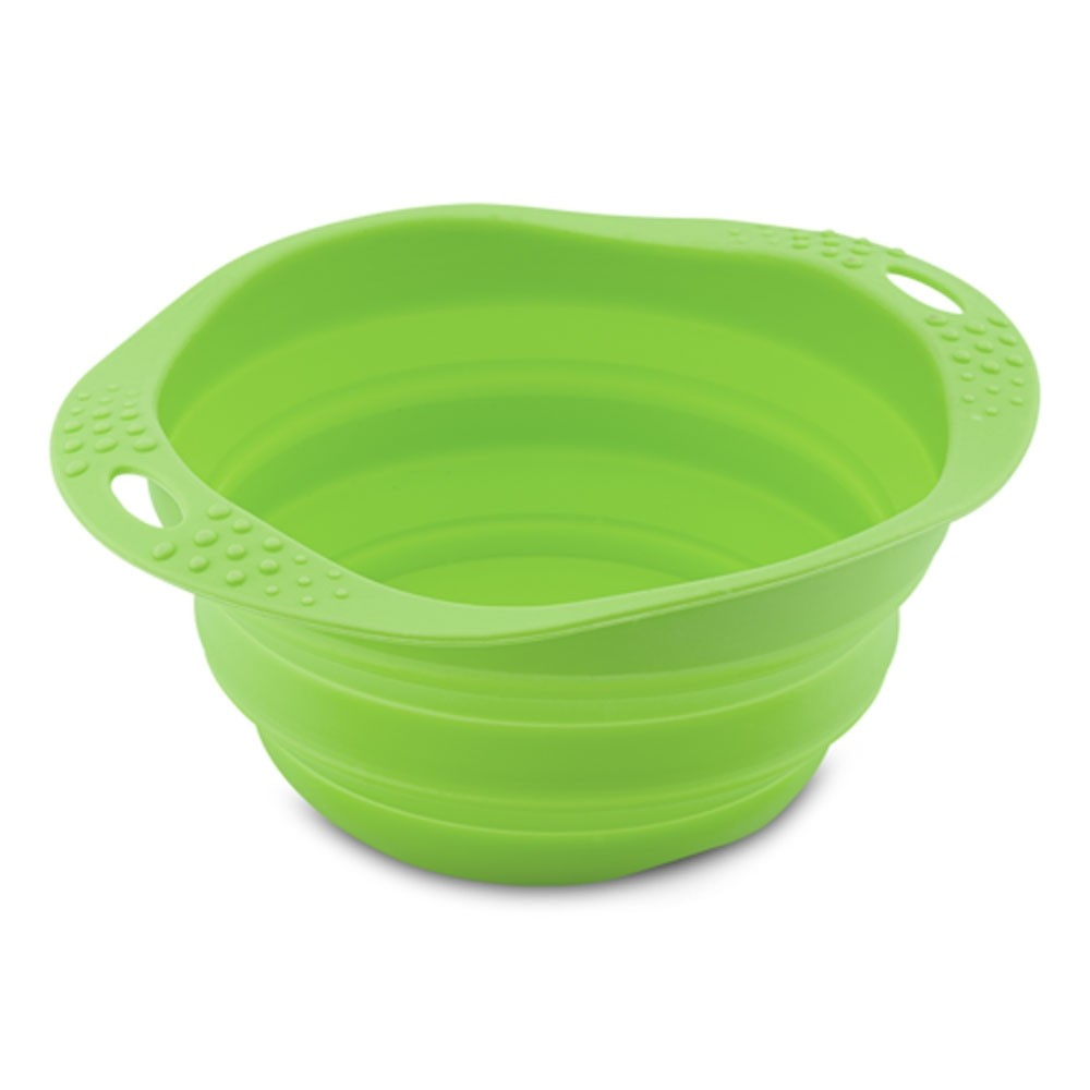 Beco Collapsible Bowl green