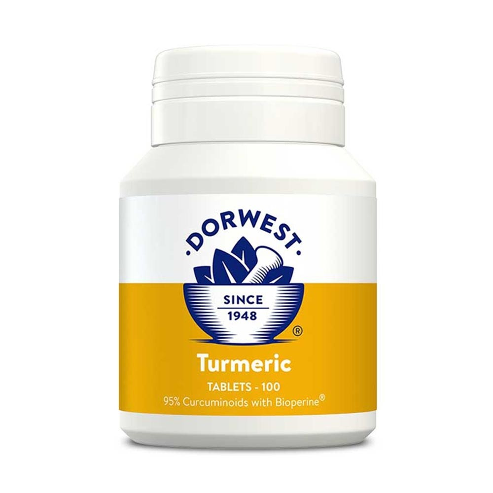 Dorwest Tumeric Tablets for dogs and cats