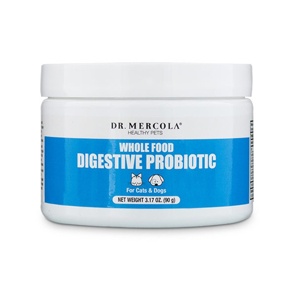 Dr Mercola Healthy Pets Whole Food Digestive Probiotic for Pets