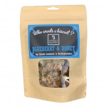 Barney's Biscuit Boxes Blueberry & Honey Dog Treats Small