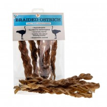 JR Pet Products Braided Ostrich Tendons