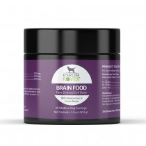 Four Leaf Rover Brain Food, Bovine Brain for Dogs 42g