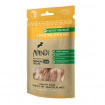 Nandi Karoo Ostrich Tendon Chews 100g