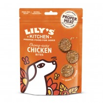 Lily's Kitchen Chomp-Away Chicken Bites Dog Treats