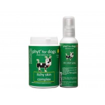 Diet'Dog Itchy Skin Complex and Skin Relief Spray