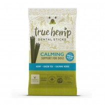 True Hemp Treats Calming Support Dental Sticks for Dogs
