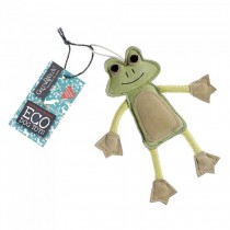 Green & Wilds Eco Dog Toy - Francis Le Frog