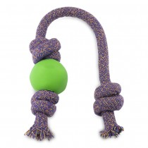 Beco Ball on rope dog toy