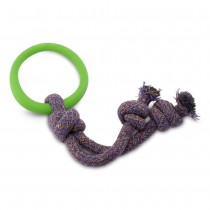 Beco Hoop on a rope Green