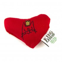 King Catnip Heart Cat Toy