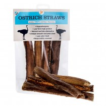 JR Pet products  Ostrich straws, 4 pieces