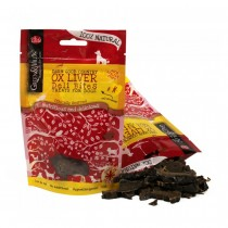 Green and Wilds Ox Liver Dog Treats