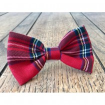 Albies Red Tartan Bow Tie