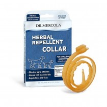 Dr Mercola Herbal Repellent Collar for Dogs & Puppies