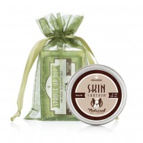 Natural Dog Company Combo - Spruce Up Pup Shampoo Bar and Skin Soother