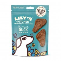 Lily's Kitchen The Mighty Duck Mini Jerky Dog Treats 70g