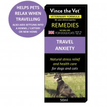 Vince The Vet Travel Anxiety 50ml