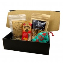 Christmas Dog Treat Gift Box we woof you a Merry Christmas