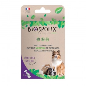 Biospotix Spot On Natural Flea Treatment for Large Breed Dogs