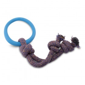 Beco Hoop on a Rope Blue