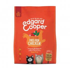Edgard & Cooper Fresh Free-run Chicken Cat Kibble with Sage, Valerian and Cranberries