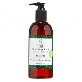 Wildwash Pro Dog Shampoo for Deep Cleaning and Deodorising 300ml