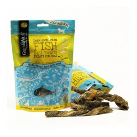 Green & Wilds Fish Deli Twists for Dogs (75g)