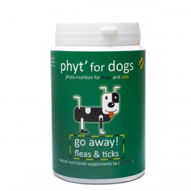 Diet' Dog - Go Away! Fleas & Ticks for Dogs and Cats