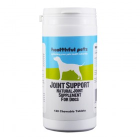 Healthful Pets Joint Support Supplement for Dogs - 120 Chewable tablets