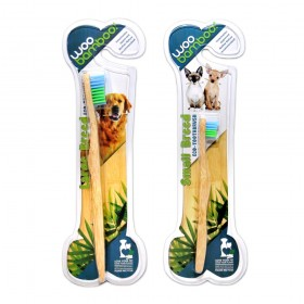 WooBamboo Eco Pet Toothbrush Large and Small