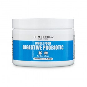 Dr Mercola Healthy Pets Whole Food Digestive Probiotic for Cats and Dogs (90g)