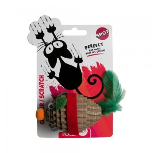 Mouse Scratch Toy