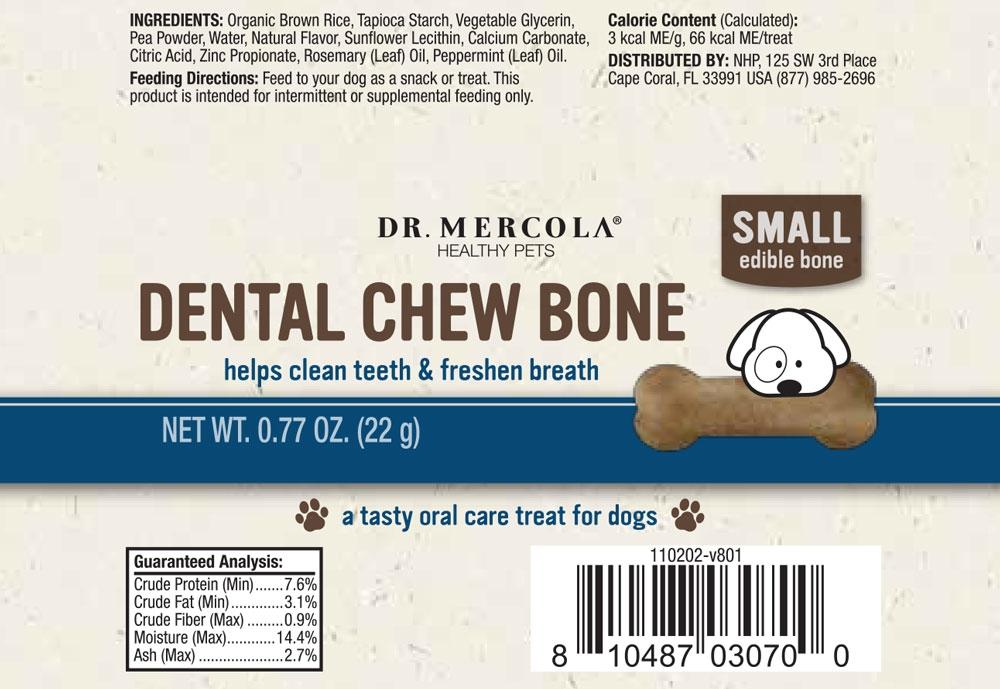 Dr Mercola Dental Bone Small Normal
